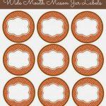 56 Cute Mason Jar Labels | Kittybabylove   Free Printable Mason Jar Labels