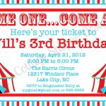 6 Best Images Of Circus Ticket Template Printable   Craft Ideas   Free Printable Ticket Invitation Templates
