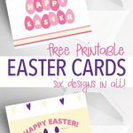6 Free Printable Easter Cards Every Bunny Will Love | Holidays   Free Printable Easter Cards