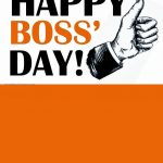 60 Most Beautiful National Boss Day 2017 Greeting Picture Ideas   Happy Boss Day Cards Free Printable
