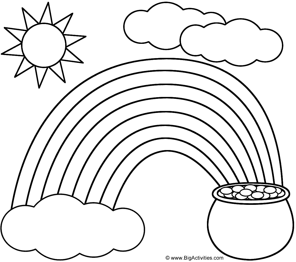 60+ St. Patrick's Day Activities And Coloring Pages | St Patty's Day - Free Printable St Patrick Day Coloring Pages