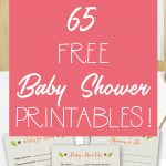 65 Free Baby Shower Printables For An Adorable Party   Free Baby Shower Printables