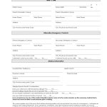 7 Best Images Of Printable Daycare Forms Free Daycare Contract Forms   Free Printable Contact Forms