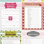 8 Free Printable Bridal Shower Games   Download Some Fun Today! | My   Free Printable Bridal Shower Games And Activities