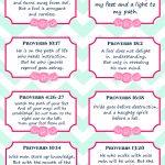 8 Free Printable Verse Cards On Wisdom, Memory Verse Cards   Free Printable Bible Verse Cards