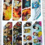 8Pcs/set Pvc Anime Bookmarks Printed With Anime Fairy Tail Natsu   Anime Bookmarks Printable For Free
