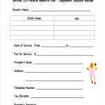 9+ Daycare Receipt Examples & Samples | Examples   Free Printable Daycare Receipts