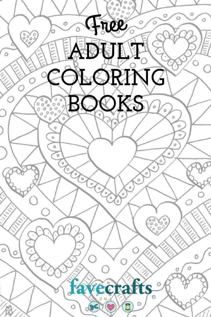 9 Free Printable Coloring Books (Pdf Downloads) | Free Adult - Free Printable Coloring Book Download