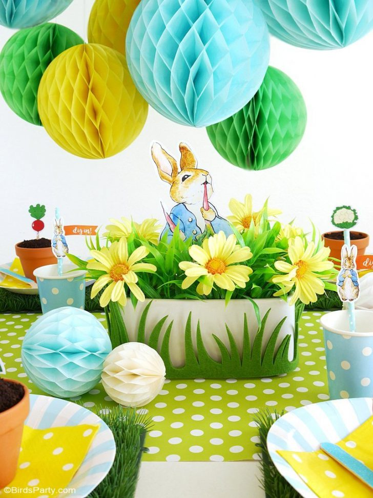 Free Peter Rabbit Party Printables