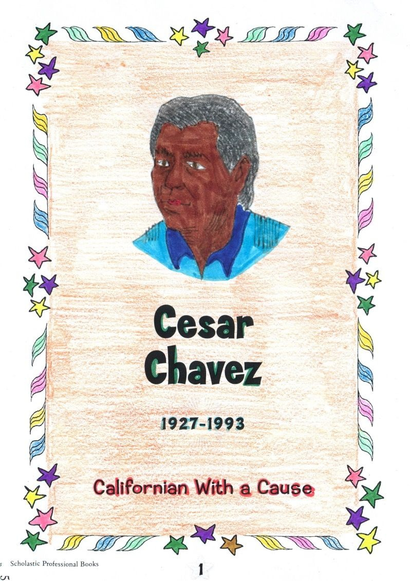 A Reproducible Mini-Book About Cesar Chavez Includes A Mini-Bio, Fun - Cesar Chavez Free Printable Worksheets