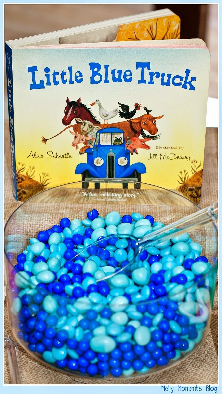 A Storybook Themed Baby Shower Little Blue Truck, And Many Other - Little Blue Truck Free Printables
