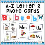 A Z Letter Cards, Photo Cards, Alphabet Flash Cards & More   The   Free Printable Alphabet Letters For Display