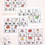 Abc Puzzles | Abc Themes For Kids | Abc Centers, Kindergarten   Free Printable Alphabet Puzzles