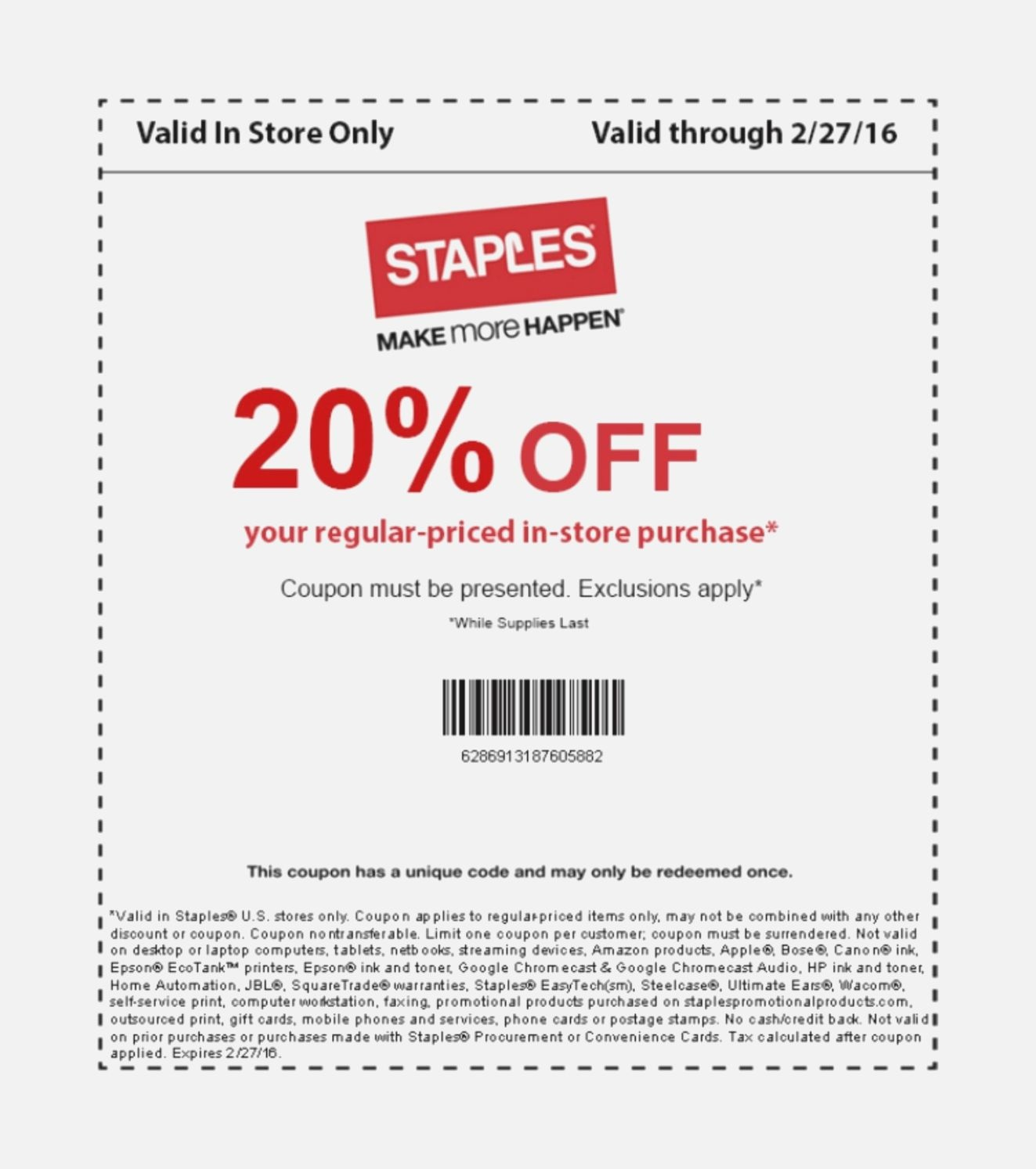 Adaptable Staples Printable Coupons | Jeettp - Free Printable American Eagle Coupons