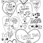 Adorable Free Heart Coloring Pages | Skip To My Lou   Free Printable Heart Coloring Pages
