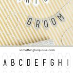 Adorable, Free Printable Mini Alphabet Banner! | Bloggers' Best   Free Printable Cake Banner Templates