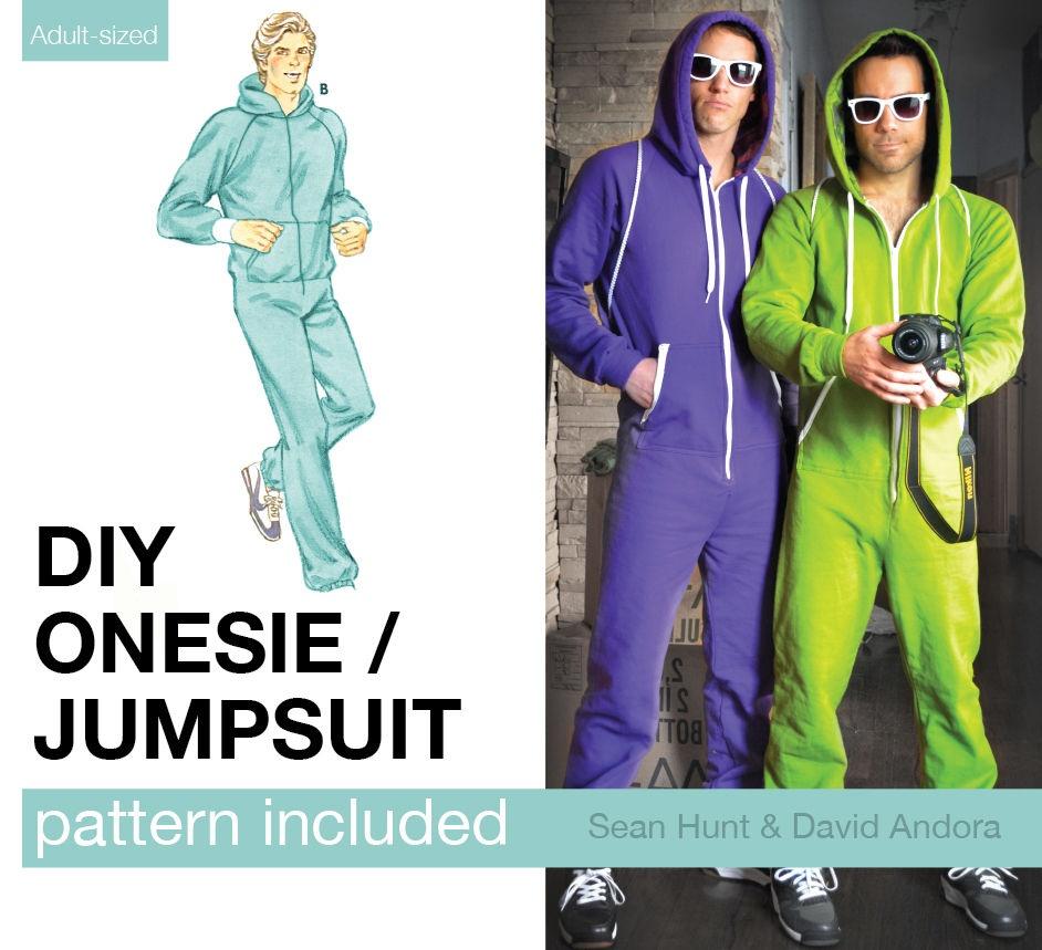 Adult Onesie / Jumpsuit Pattern: 9 Steps (With Pictures) - Free Printable Onesie Pattern