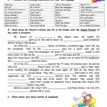 Adults' Daily Routine Worksheet   Free Esl Printable Worksheets Made   Free Esl Printables For Adults