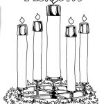 Advent Candles Coloring Pages   Ministry To Children   Free Advent Wreath Printables