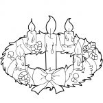 Advent Wreath And Candles Coloring Page | Free Printable Coloring Pages   Free Advent Wreath Printables