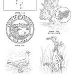 Alaska State Symbols Coloring Page | Free Printable Coloring Pages   Free Printable Pictures Of Alaska