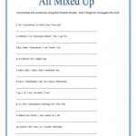 All Mixed Up ~ Sentence Scramble Worksheet   Free Esl Printable   Free Printable Scrambled Sentences Worksheets