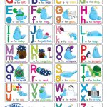 Alphabet Chart With Pictures (Free Printable)   Doozy Moo   Free Printable Alphabet Letters For Display
