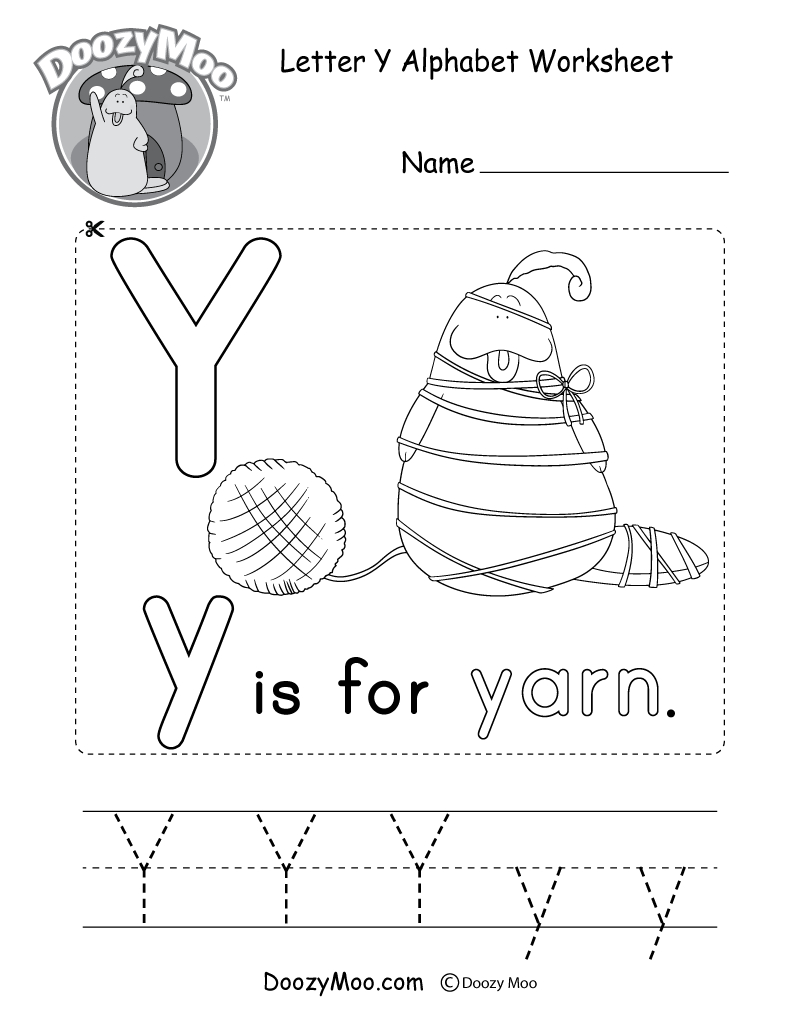 Alphabet Worksheets (Free Printables) - Doozy Moo - Free Printable Alphabet Worksheets