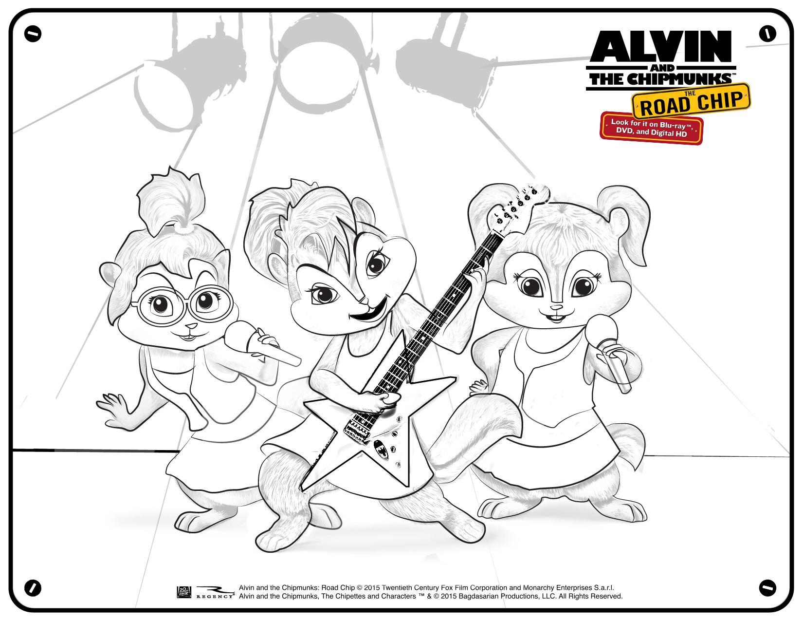 Alvin And The Chipmunks - Road Chip Partner Toolkit - Free Printable Chipmunk Mask