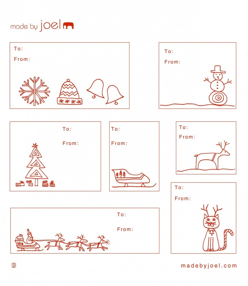 Amazing Free Printable Gift Tag Templates Template Ideas Blank Pdf - Free Printable Gift Tag Templates For Word