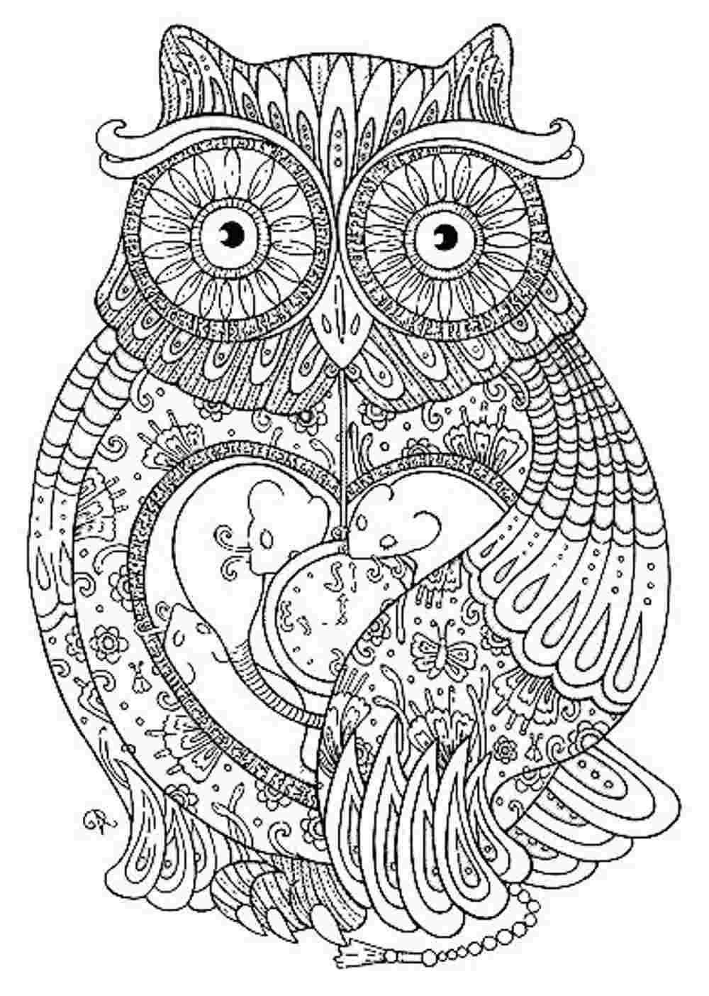 Animal Mandala Coloring Pages To Download And Print For Free | Craft - Free Mandalas To Colour In Printable
