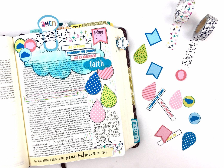 April Bible Journaling Challenge Plus Free Printable - Southern Couture - Free Bible Journaling Printables