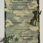 Army Birthday Party Invitations Free Printable | Birthday Party In   Free Printable Camouflage Birthday Cards