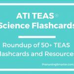 Ati Teas Science Flashcards | Prenursing Smarter   Free Printable Teas Practice Test