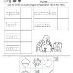 Autumn Worksheet   Free Kindergarten Seasonal Worksheet For Kids   Free Printable Autumn Worksheets