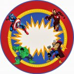Avengers Free Printable Kit.   Oh My Fiesta! In English   Free Avengers Birthday Party Printables