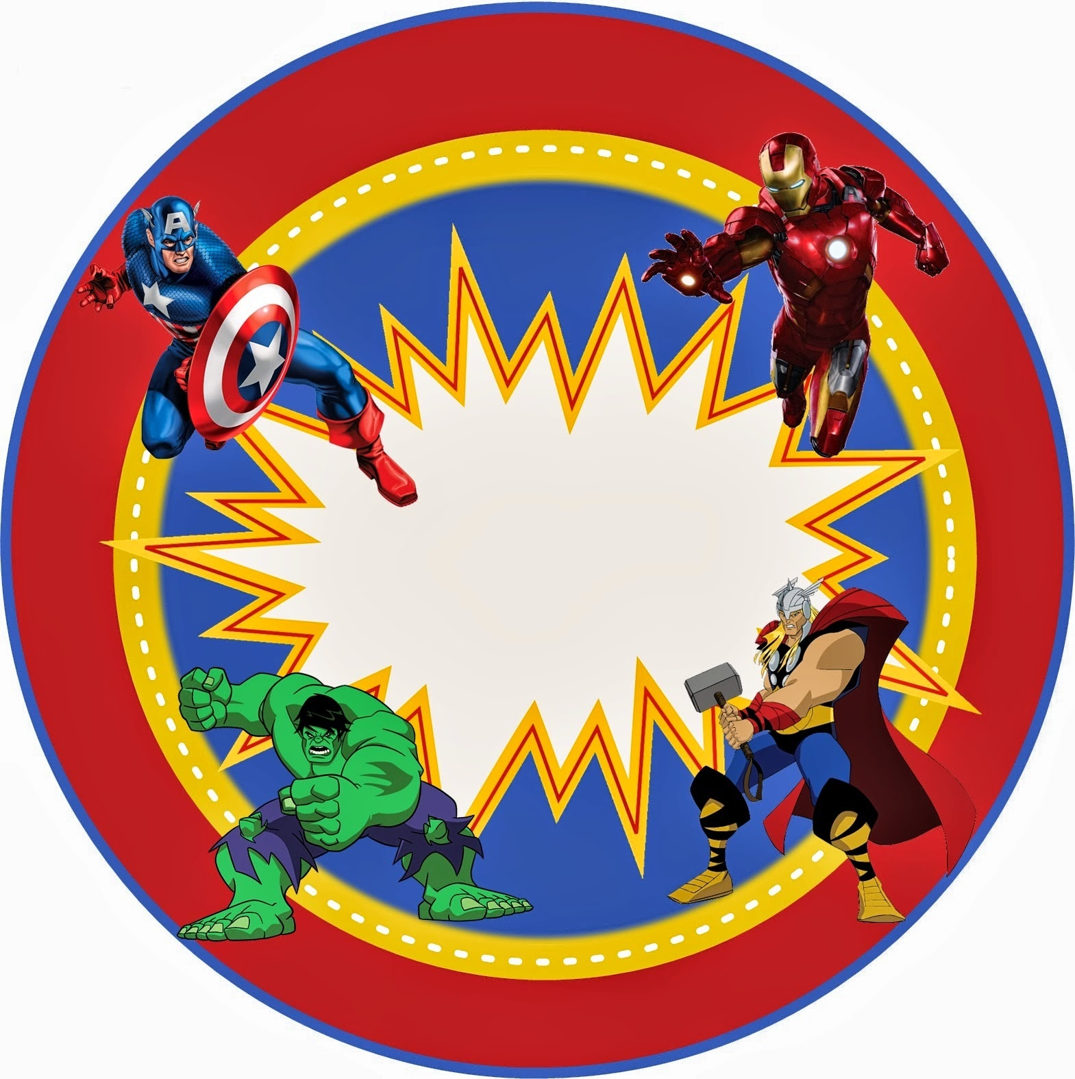 Avengers Free Printable Kit. - Oh My Fiesta! In English - Free Avengers Birthday Party Printables