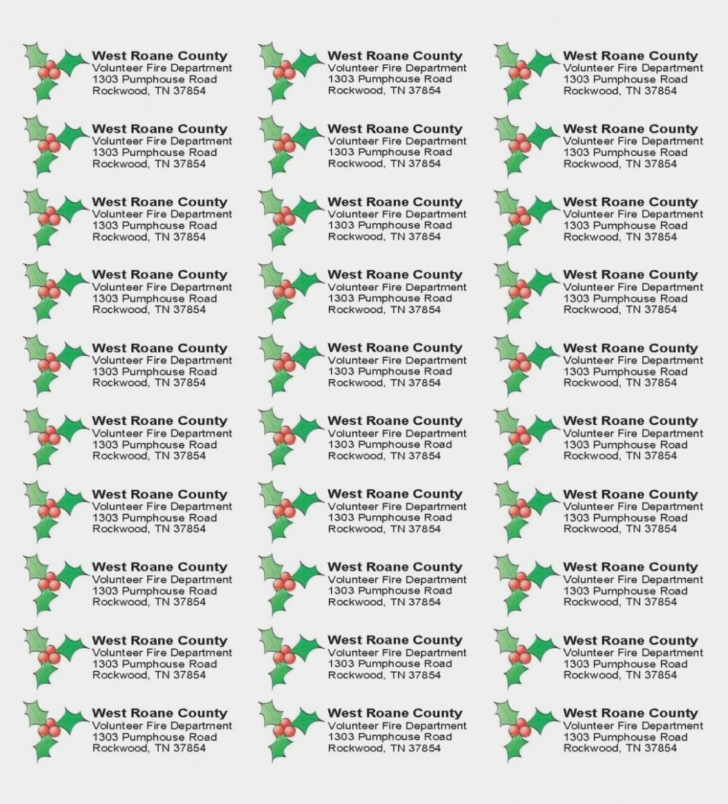 Avery Address Labels 15 Template New Free Christmas Return Address - Free Printable Christmas Address Labels Avery 5160