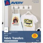 "Avery T Shirt Transfers, 8 1/2"" X 11"", 18 Transfers (8938)   Walmart   Free Printable Iron On Transfers For T Shirts"