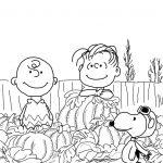 Awesome Free Printable Charlie Brown Halloween Coloring Pages   Free Printable Charlie Brown Halloween Coloring Pages