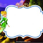 Awesome Free Printable Disney Tinkerbell Birthday Invitation   Free Tinkerbell Printable Birthday Invitations