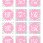 Baby Girl Shower Free Printables | Baby Shower Ideas | Baby Shower   Free Pink Elephant Baby Shower Printables