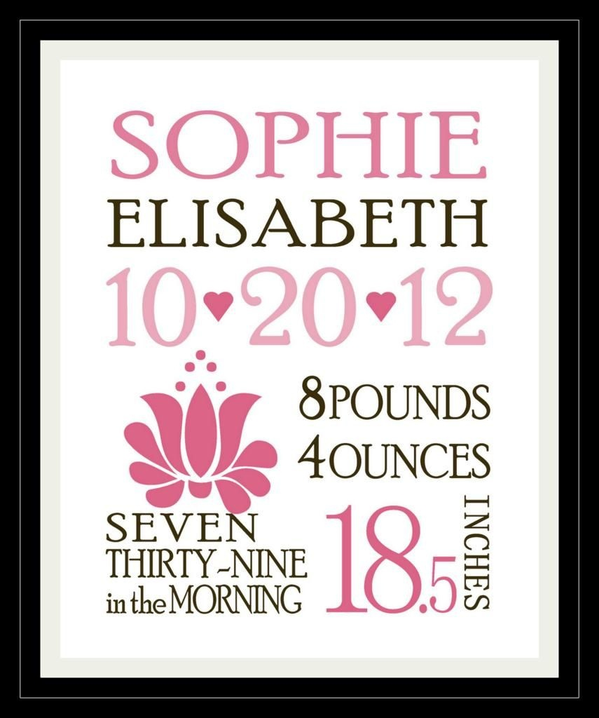 Baby's Birth Announcement  Printable Template For Boy Or Girl - Free Birth Announcements Printable