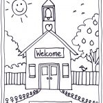 Back To School Coloring Pages Free Printables Image 22 … | Classroom   Free Printable First Day Of School Coloring Pages