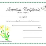 Baptism Invitation : Printable Baptism Invitations   Free Invitation   Free Online Printable Baptism Certificates