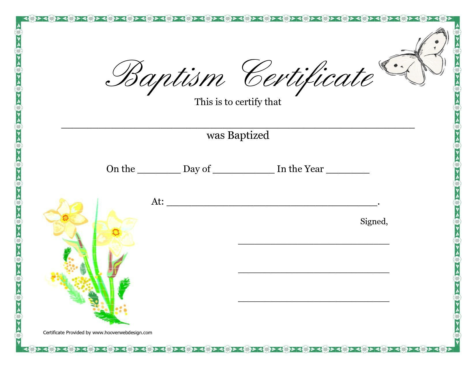 Baptism Invitation : Printable Baptism Invitations - Free Invitation - Free Online Printable Baptism Certificates
