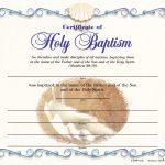 Baptismal Certificate   Adult (Pkg Of 12)   Free Online Printable Baptism Certificates