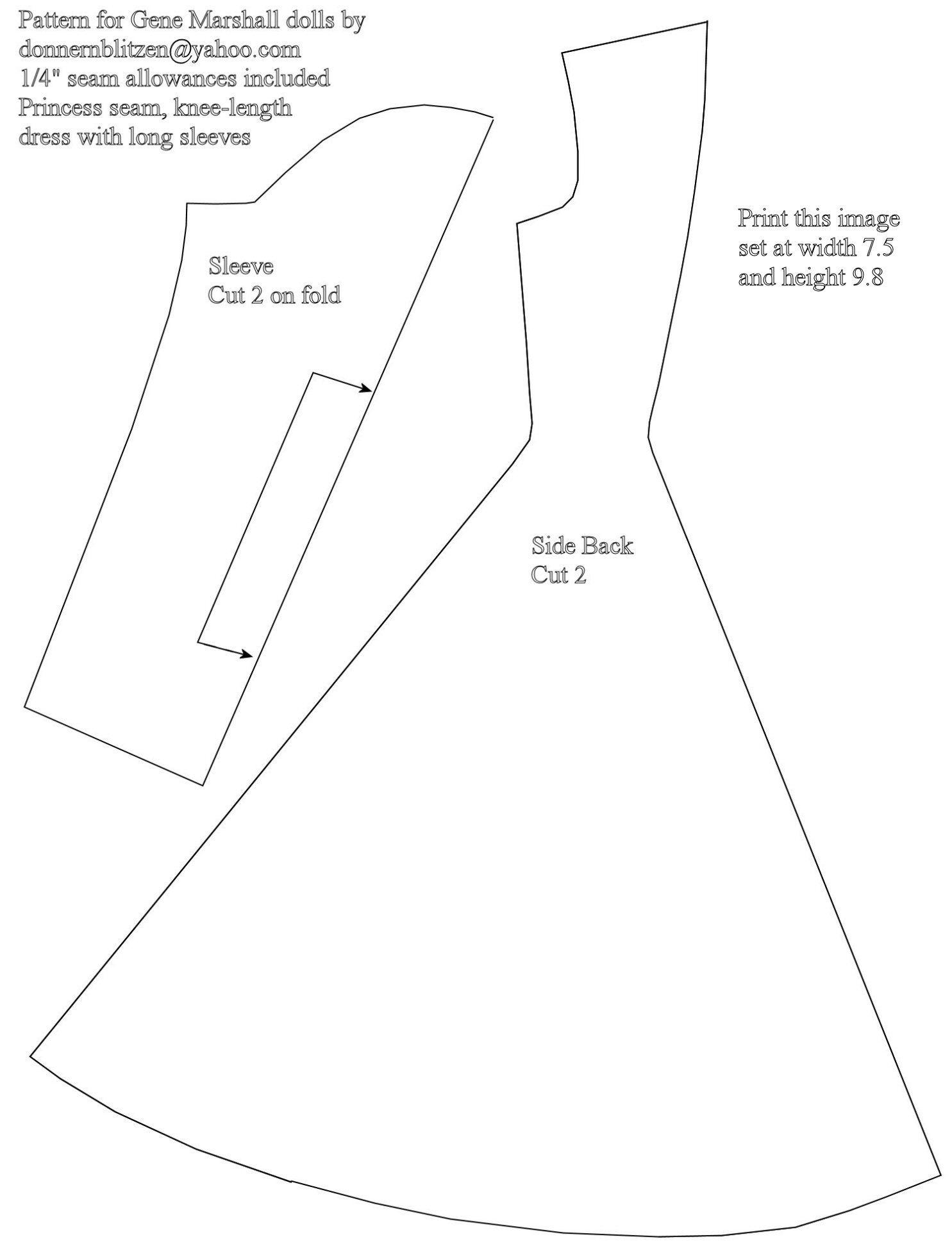 Barbie Dress Patterns Free Printable Pdf | Huston Fislar Photography - Barbie Dress Patterns Free Printable Pdf