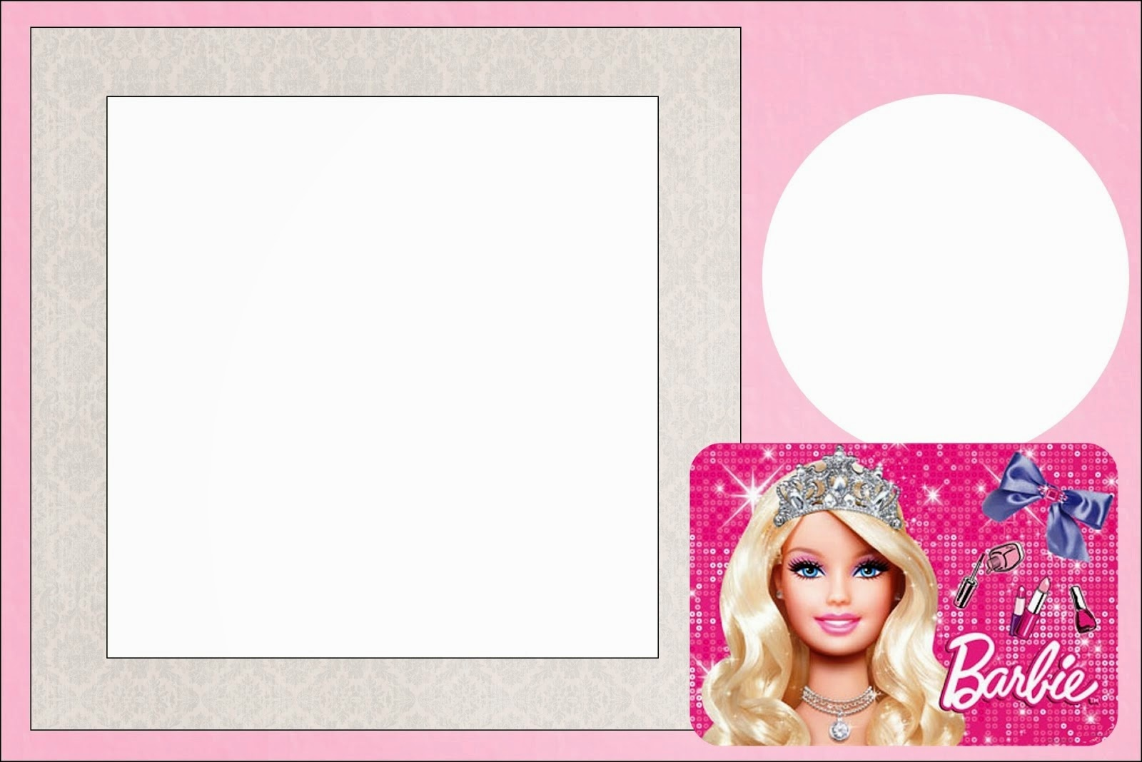 Barbie Life Style: Free Printable Invitations. - Oh My Fiesta! In - Free Printable Barbie Birthday Party Invitations