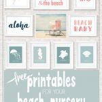 Beach Printables | Free Printables • Roundups! | Beach Bathrooms   Free Printable Beach Pictures